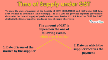 Time of Supply under GST min 360x203 - Goods and Services Tax (GST)