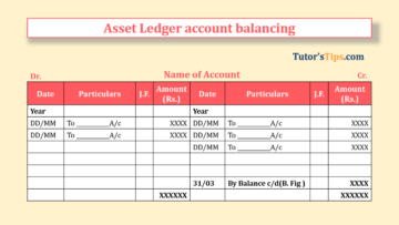 Assets Ledger account balancing Feature Image 1 360x203 - Financial Accounting Tutorial