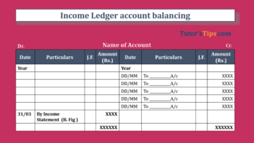 Income Ledger account balancing Feature Image 360x203 - Financial Accounting Tutorial