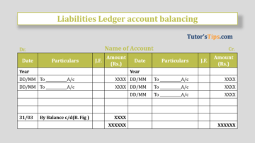 liabilities Ledger account balancing Feature Image 360x203 - Financial Accounting Tutorial