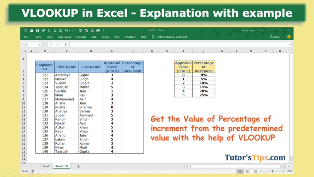 VLOOKUP Formula in Excel-Feature Image