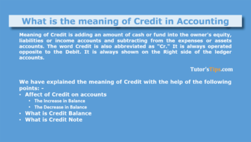 Meaning of Credit 360x203 - The terminology of Financial Accounting