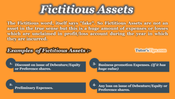 Meaning of Fictitious Assets 360x203 - The terminology of Financial Accounting