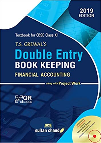 T.S. Grewals Double Entry Book Keeping - Accounting Book Solutions with explanation