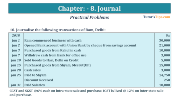 Question No. 10 Chapter No.8 T.S. Grewal 1 Book 2019 360x199 - Chapter No. 8 - Journal - T.S. Grewal 11 Class - Book Solution