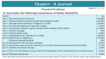 Question No. 12 Chapter No.8 T.S. Grewal 1 Book 2019 360x201 - Chapter No. 8 - Journal - T.S. Grewal 11 Class - Book Solution