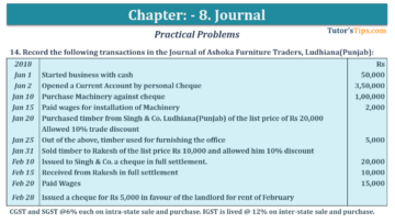 Question No. 14 Chapter No.8 T.S. Grewal 1 Book 2019 360x203 - Chapter No. 8 - Journal - T.S. Grewal 11 Class - Book Solution
