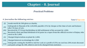 Question No. 6 Chapter No.8 T.S. Grewal 1 Book 2019 360x199 - Chapter No. 8 - Journal - T.S. Grewal 11 Class - Book Solution