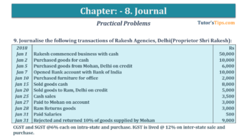 Question No. 9 Chapter No.8 T.S. Grewal 1 Book 2019 360x202 - Chapter No. 8 - Journal - T.S. Grewal 11 Class - Book Solution