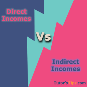Differences between Direct Incomes and Indirect Incomes 300x300 - Differences - Financial Accounting