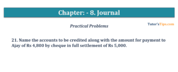 Question No. 21 Chapter No.8 T.S. Grewal 1 Book 2019 360x146 - Chapter No. 8 - Journal - T.S. Grewal 11 Class - Book Solution