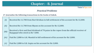 Question No. 27 Chapter No.8 T.S. Grewal 1 Book 2019 360x203 - Chapter No. 8 - Journal - T.S. Grewal 11 Class - Book Solution