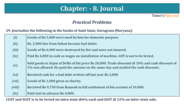 Question No. 29 Chapter No.8 T.S. Grewal 1 Book 2019 360x203 - Chapter No. 8 - Journal - T.S. Grewal 11 Class - Book Solution