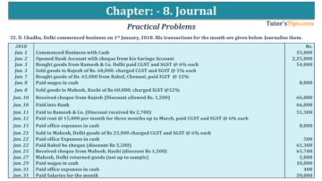 Question No. 32 Chapter No.8 T.S. Grewal 1 Book 2019 360x203 - Chapter No. 8 - Journal - T.S. Grewal 11 Class - Book Solution