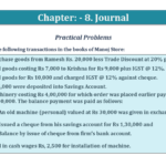 Question No. 34 - Chapter No.8 - T.S. Grewal +1 Book 2019