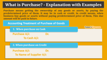 What is Purchase 1 360x203 - The terminology of Financial Accounting