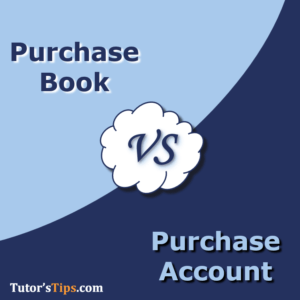 Difference Between Purchase Book and Purchase Account 300x300 - Differences - Financial Accounting