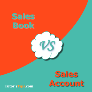 Difference Between Sales Book and Sales Account 300x300 - Differences - Financial Accounting