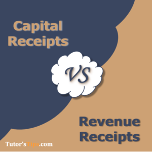 Differences between Capital and Revenue Receipts 300x300 - Differences - Financial Accounting