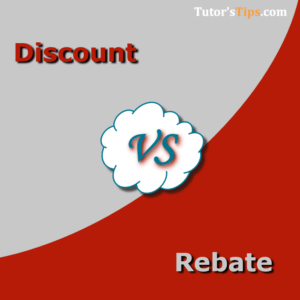 Differences between Discount and Reabte  300x300 - Differences - Financial Accounting