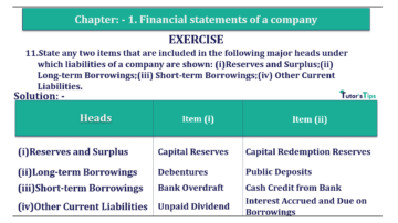 Question No. 11 Chapter No.1 T.S. Grewal 2 Book Part B min 360x202 - Chapter No. 1 - Financial Statements of a Company