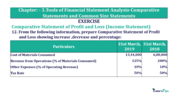 Question No. 12 Chapter No.3 T.S. Grewal 2 Book Part B min 1 360x202 - Tools of Financial Statement Analysis - Book Solution