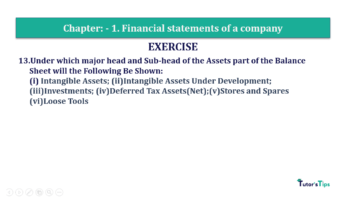 Question No. 13 Chapter No.1 T.S. Grewal 2 Book Part B min 360x202 - Chapter No. 1 - Financial Statements of a Company