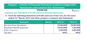 Question No. 17 Chapter No.3 T.S. Grewal 2 Book Part B min 360x202 - Tools of Financial Statement Analysis - Book Solution