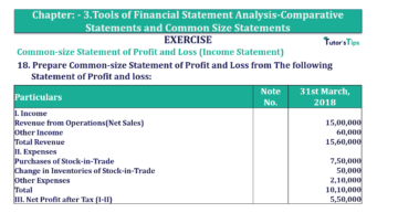 Question No. 18 Chapter No.3 T.S. Grewal 2 Book Part B min 360x202 - Tools of Financial Statement Analysis - Book Solution