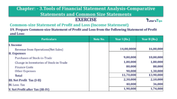 Question No. 19 Chapter No.3 T.S. Grewal 2 Book Part B min 360x202 - Tools of Financial Statement Analysis - Book Solution