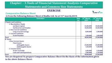 Question No. 2 Chapter No.3 T.S. Grewal 2 Book Part B min 360x202 - Tools of Financial Statement Analysis - Book Solution