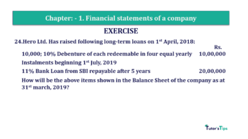 Question No. 24 Chapter No.1 T.S. Grewal 2 Book Part B min 360x202 - Chapter No. 1 - Financial Statements of a Company