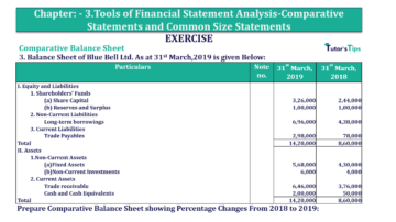 Question No. 3 Chapter No.3 T.S. Grewal 2 Book Part B min 1 360x202 - Tools of Financial Statement Analysis - Book Solution