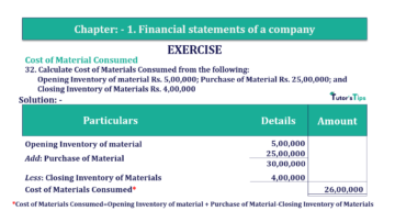 Question No. 32 Chapter No.1 T.S. Grewal 2 Book Part B min 360x202 - Chapter No. 1 - Financial Statements of a Company