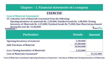 Question No. 33 Chapter No.1 T.S. Grewal 2 Book Part B min 360x202 - Chapter No. 1 - Financial Statements of a Company