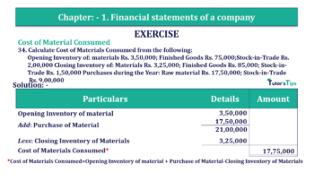 Question No. 34 Chapter No.1 T.S. Grewal 2 Book Part B min 360x202 - Chapter No. 1 - Financial Statements of a Company
