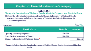 Question No. 36 Chapter No.1 T.S. Grewal 2 Book Part B min 360x202 - Chapter No. 1 - Financial Statements of a Company