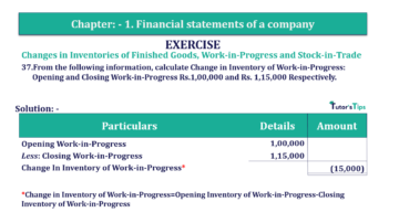Question No. 37 Chapter No.1 T.S. Grewal 2 Book Part B min 360x202 - Chapter No. 1 - Financial Statements of a Company