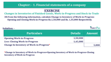 Question No. 38 Chapter No.1 T.S. Grewal 2 Book Part B min 360x202 - Chapter No. 1 - Financial Statements of a Company