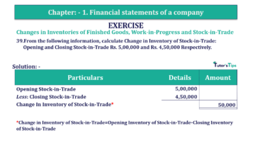 Question No. 39 Chapter No.1 T.S. Grewal 2 Book Part B min 360x202 - Chapter No. 1 - Financial Statements of a Company