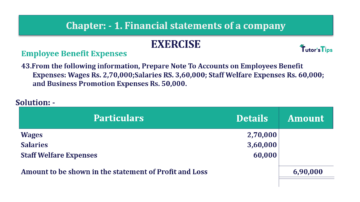 Question No. 43 Chapter No.1 T.S. Grewal 2 Book Part B min 360x202 - Chapter No. 1 - Financial Statements of a Company