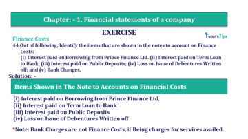 Question No. 44 Chapter No.1 T.S. Grewal 2 Book Part B min 360x202 - Chapter No. 1 - Financial Statements of a Company