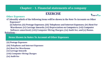Question No. 47 Chapter No.1 T.S. Grewal 2 Book Part B min 360x202 - Chapter No. 1 - Financial Statements of a Company