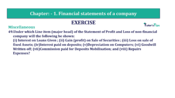 Question No. 49 Chapter No.1 T.S. Grewal 2 Book Part B min 360x202 - Chapter No. 1 - Financial Statements of a Company