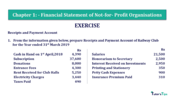 Question No.1 Chapter No.1 T.S. Grewal 2 Book Part A 2019 Solution min min 360x202 - Chapter No. 1 - Financial Statement of Not-For-Profit Organisations