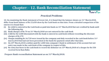 Question No.10 Chapter No.12 T.S. Grewal 1 Book 2019 Solution min min 360x202 - Bank Reconciliation Statement – T.S. Grewal 11 Class – Book Solution