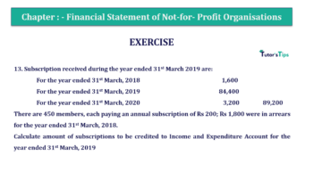 Question No.13 Chapter No.1 T.S. Grewal 2 Book Part A 2019 Solution min min 360x202 - Chapter No. 1 - Financial Statement of Not-For-Profit Organisations
