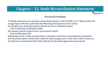 Question No.15 Chapter No.12 T.S. Grewal 1 Book 2019 Solution min min 360x202 - Bank Reconciliation Statement – T.S. Grewal 11 Class – Book Solution