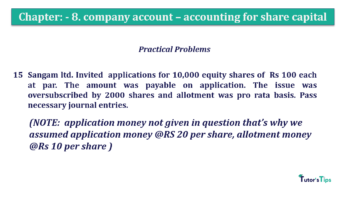 Question No.15 Chapter No.8 T.S. Grewal 2 Book 2019 Solution min min 360x202 - Chapter No. 8 - Company Accounts - Accounting for Share Capital
