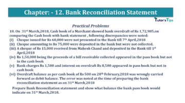 Question No.18 Chapter No.12 T.S. Grewal 1 Book 2019 Solution min min 360x202 - Bank Reconciliation Statement – T.S. Grewal 11 Class – Book Solution